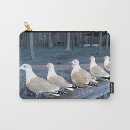 """""""Ducks"""" in a row :) Carry-All Pouch"""