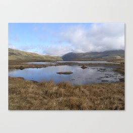 Tarn near Steel Fell Canvas Print