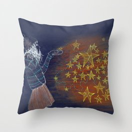 brightstar Throw Pillow