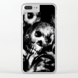 Lay Down Clear iPhone Case