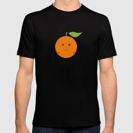 Orange character T-shirt