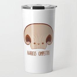 Agaricus Campestris Travel Mug