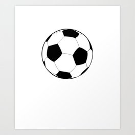 You Don't Scare Me I Coach Girls Soccer graphic Gift Idea Art Print