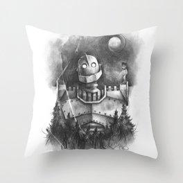 The Giant's Dream Throw Pillow