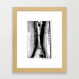 NOGO:ARTWORK STUDIO #143 Framed Art Print