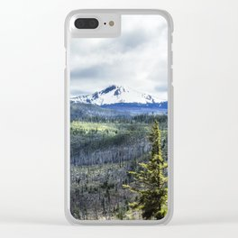Devastating Beauty Clear iPhone Case
