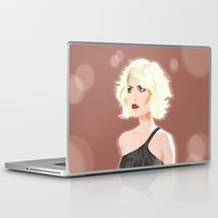 blondie Laptop & iPad Skins featuring Blondie by drawgood