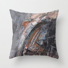 Abstract 2014/11/26 Throw Pillow