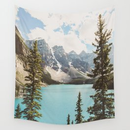 Moraine Lake II Banff National Park Wall Tapestry
