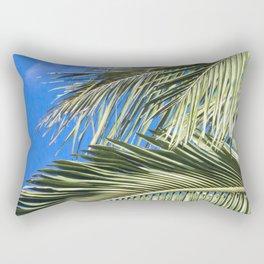 Tropical Foliages Rectangular Pillow