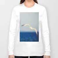flight Long Sleeve T-shirts featuring Flight by Pure Nature Photos