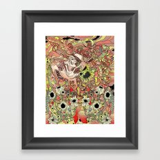 Comes in Three Framed Art Print