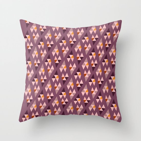 Wild Berries Throw Pillow