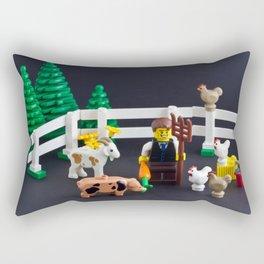The new breed of farmer Rectangular Pillow