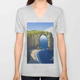 Rock and Water Unisex V-Neck