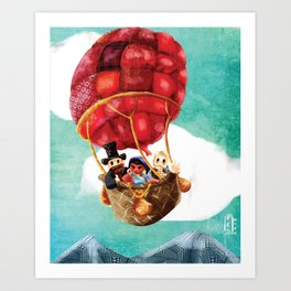 Le Tour du monde en quatre-vingts jours Art Print