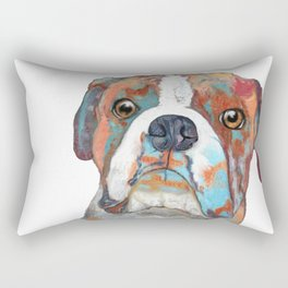Boxer Pup Rectangular Pillow