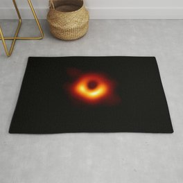 black hole : the first picture. Rug