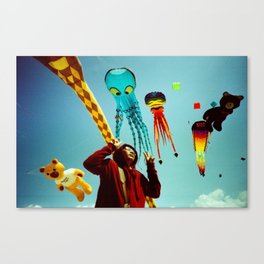 DUDI AND ALL HIS FRIENDS Canvas Print