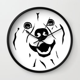 Lovely Dog Wall Clock