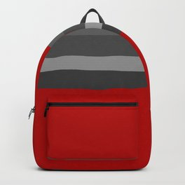 Abstract Grey Lines Backpack