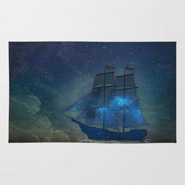 Ships and Stars Rug