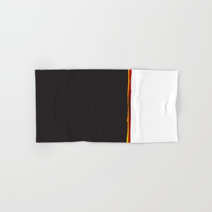 No Traveler Returns Abstract Print Hand & Bath Towel