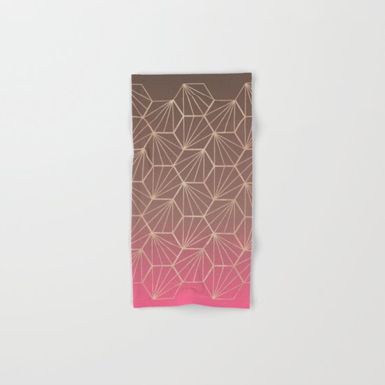 Natural Geometry II Hand & Bath Towel
