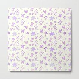 Floral Pattern #4 Metal Print