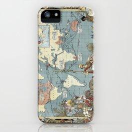 World map - British Empire - 1886 iPhone Case
