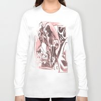 madonna Long Sleeve T-shirts featuring La Madonna by Davide Spinelli