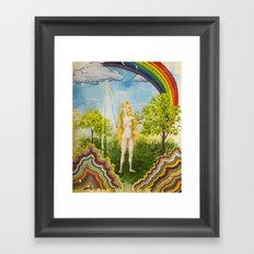 The Temptation of Eve Framed Art Print