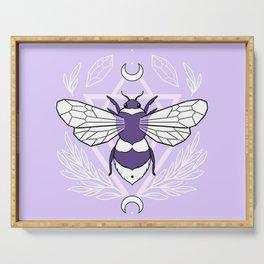 Bee Queen // Pastel Serving Tray