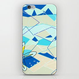 Distorted Sea iPhone Skin