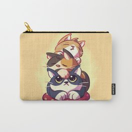 Cat Stack Doodle Carry-All Pouch