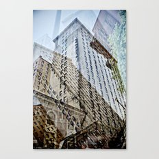 Trippy Kentucky Towers. Canvas Print