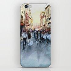 PARIS Street - Painting iPhone & iPod Skin