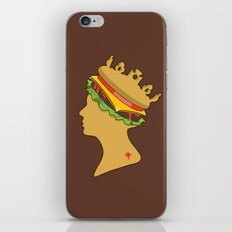 Burger Queen aka Royal With Cheese iPhone Skin