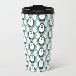 NGWINI - penguin love pattern 7 Travel Mug
