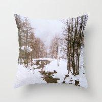 fairy tale Throw Pillows featuring Fairy tale. by Carola Ferrero