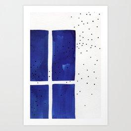 Ultramarine #8 Art Print