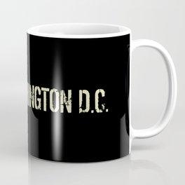 Washington D.C.: Black Flag Coffee Mug