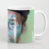 supreme Mugs featuring true supreme by Matthew Asbury