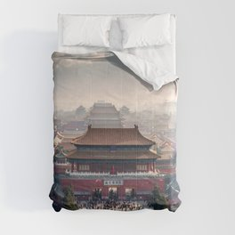 Historically Charged Forbidden City Beijing China Asia Ultra HD Comforters