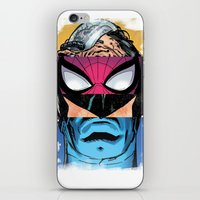 comic book iPhone & iPod Skins featuring Comic by Molnár Roland