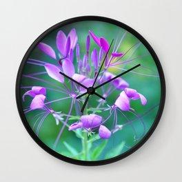 Cleome Wall Clock