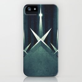 Enceladus - Ice Geysers iPhone Case