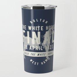 White Horse Cup Final 1923 Travel Mug