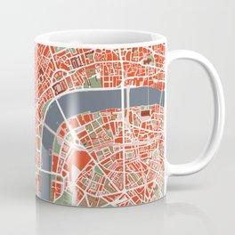 London city map classic Coffee Mug