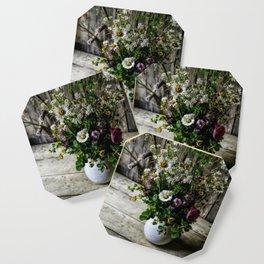 July Bouquet Coaster